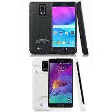 Charger Case External Battery Power Bank f/Samsung Galaxy Note 4 with Kickstand