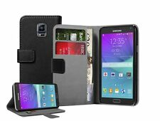 WALLET Leather Flip Case Cover Pouch For Samsung Galaxy Note 4 SM-N910S SM-N910C