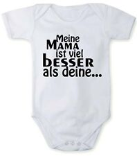 Romper bodysuit with My mum´s better than yours in different languages