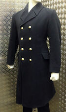 Genuine British Royal Navy RN Ratings Full Length Greatcoat / Overcoat WO PO