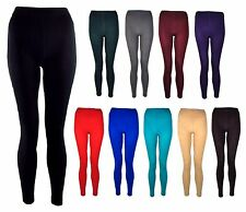 Brand New WARM FLEECE LINED THERMAL FOOTLESS LEGGINGS