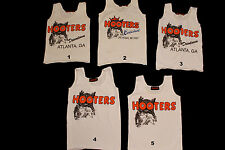 Hooters Girl Uniform Costume White Tank Your Choice Pick Your Top EUC