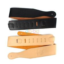 PU Leather Buckle Guitar Electric Acoustic Firm Strap Straps Black Brown Useful