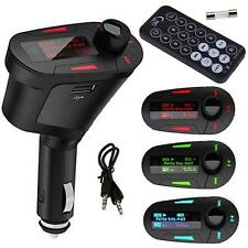 Car Kit MP3 Player Wireless FM Transmitter Modulator USB SD LCD Charger Stable