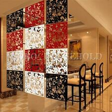 Plastic Hanging Screen Partition Room Divider Butterfly Flower Wall Home Sticker
