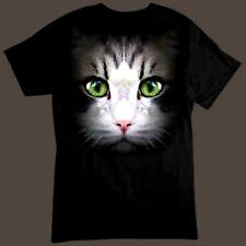 Pussy Cat Kitten Face Cute Animal Lover Gift T-Shirt - All Sizes Available