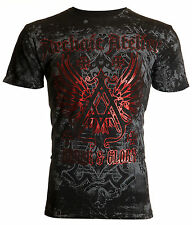 Archaic AFFLICTION Mens T-Shirt ACHILLES Cross Tattoo Biker MMA UFC M-4XL $40