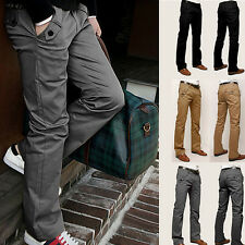 NEU SEXY SLIM FIT HERREN Business CHINOHOSE DENIM TROUSERS JEANS SZ 29-32