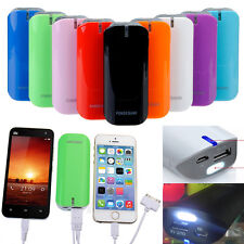 5600mAh Portable Power Bank Battery USB Charger Cable For Mobile i Phone Samsung