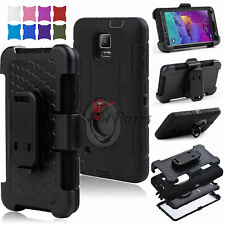 Hybrid Case for Samsung Galaxy Note 4 Shockproof Rugged Hard Cover New