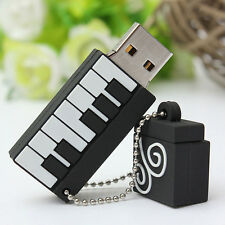 Piano Modèle 8/16/32 G GO GB CLE USB 2.0 Flash Drive Memory Stick Storage U-Disk