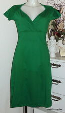 King Louie Kleid Gina dress green grün wrinkle 4114536 Basic-kleid