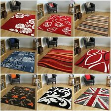 MODERN RUGS for sale red brown blue purple orange black cream green design mats