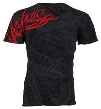 Archaic AFFLICTION Mens T-Shirt DRAGON RAGE Tattoo Fight Biker UFC M-3XL $40 c