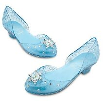 Disney Store Frozen Elsa Light Up Costume Shoes Size 7/8 9/10 11/12 13/1 2/3 NEW