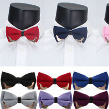 Tie Bow Bowtie Mens Necktie Wedding Fashion Adjustable Classic Unique Men Styles