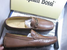 NIB NEW STEPHAN BOSSI PREMIUM LEATHER LUXURY LOAFER SLIP ON SHOES MADE IN BRAZIL