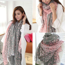 Top Fashion Candy colors Lady Women's Long Scarf Wraps Shawl Stole Soft Scarves