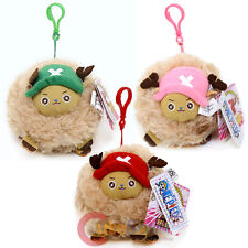 One Piece Chopper Guardpoint Plush Doll Key Chain Hanging Toy -3 Color 5""