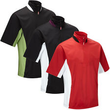 Stuburt 2014 Mens Sport Water Repellent 1/2 Zip Short Sleeve Golf Windshirt Top