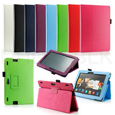 """Folding PU Leather Cover Smart Case for Amazon Kindle Fire HDX 8.9"""" inch 2013"""