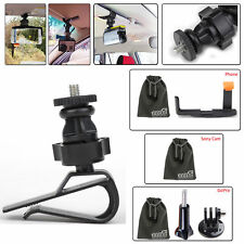EEEKit GoPro 4 3+/Sony Cam AS 15 20 30V 100V AZ1 Mini/Phone Car Sun Visor Mount