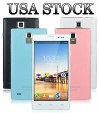 "5.5"" Unlocked Android Smart Phone Dual Core 3G/GSM GPS WIFI AT&T Straight Talk"
