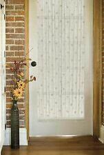 Heritage Lace Bee Door Panel, White or Ecru, 45 inches wide, Choice of 4 sizes