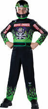 Child Boys Monster Jam Grave Digger Racing Jumpsuit Costume Cars Party Halloween