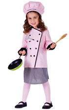 Master Girl Chef Child Costume Set