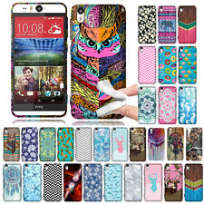 For HTC Desire EYE AT&T Zig Zag TPU SILICONE Soft Rubber Flexi Slim Case Cover