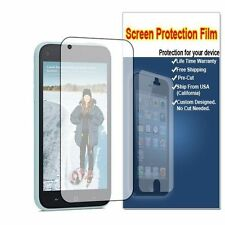 For HTC First HD Crystal Clear LCD Screen Protector Guard Film US SELLER