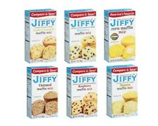 Jiffy Breakfast Muffin Bread Mix 4 Boxes