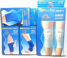 2pc Elbow/Wrist/Palm/Knee/Ankle Band Support Sports Pain Protector Elastic Brace
