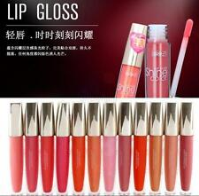 12 Colors Shimmer Bright Moisturize Long Lasting Lip Gloss Lipstick Cosmetic New