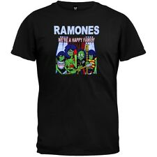 Ramones - Happy Family Adult Mens T-Shirt