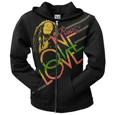 Bob Marley - One Love Smile Juniors Zip Hoodie