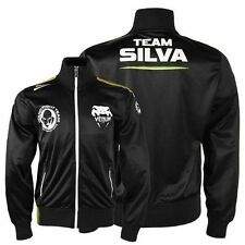 VENUM Men Track Jacket Shirt TEAM SILVA Wanderlei Brazil Fight MMA UFC L-XXL $70