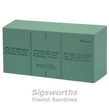 OASIS® BRICKS WET FOAM Maxlife Floral Foam Blocks Ideal Fresh Flowers Floristry