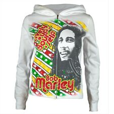 Bob Marley - Lively Up Yourself Juniors Zip-Up Hoodie
