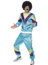 Adult Male 80's Height Fashion Shell Suit Costume Smiffys Fancy Dress - 3 Sizes