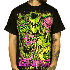 GWAR - Faces - T SHIRT S-M-L-XL-2XL Brand New - Official T Shirt - Metal Music
