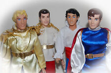 Disney Prince Doll,Aladdin,Little Mermaid Prince Eric,Beauty and the Beast etc