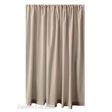 14 ft Beige Velvet Curtain Panel Large High Studio Ceiling Window Drape Drapery