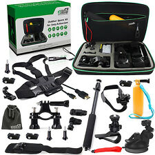 EEEKit Professional Outdoor Sports Accessories Bundle Kit for Sony Action Cam