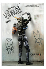 Chappie Movie Teaser Large Wall Film Poster New - Maxi Size 91.5cm x 61cm