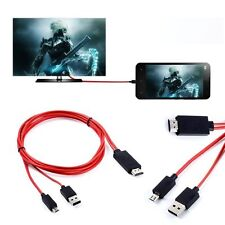 MHL Micro USB to HDMI 1080P HDTV Mirror Screen Converter Adapter Cable - NEW