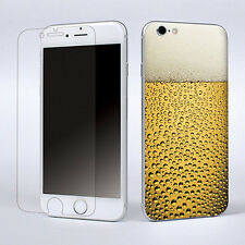 "Beer Style Skin Sticker Cover Fit Apple iPhone 6 Plus 5.5"" W/Screen Protector"