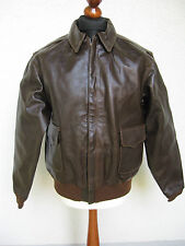 A-2 Eastman Leather Filght Jacket USAAF A2 Pilot Flight US Army WK2