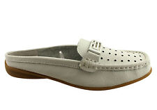 BELLISSIMO BEAMING WOMENS LEATHER SLIPON LOAFERS SHOES/CASUAL/SOFT & COMFORTABLE
